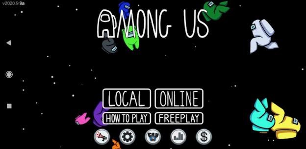 Among Us mod menu en español 2