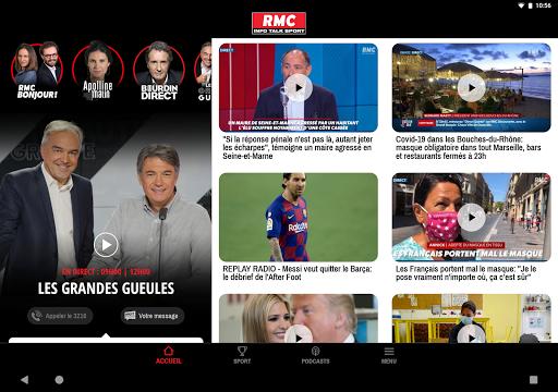 RMC ud83cudf99ufe0fInfo et Foot en direct - Radio & Podcast  Screenshots 8