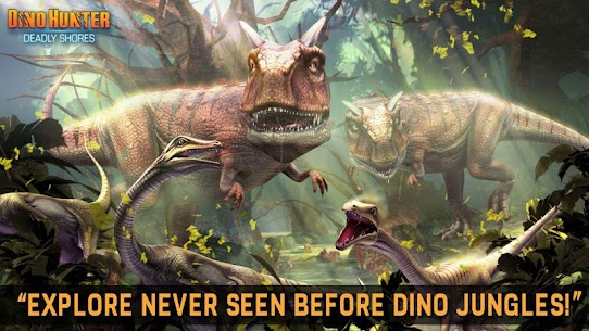 Dino Hunter MOD APK [Unlimited Money/Energy/Coins/Unlocked] 5