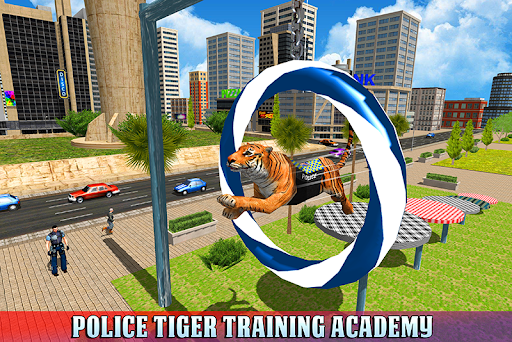 Police Tiger Chase Simulator: City Crime Apkfinish screenshots 6