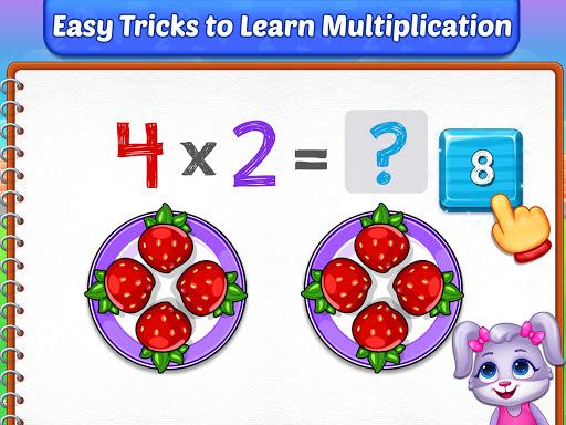 Multiplication Kids - Math Multiplication Tables apkpoly screenshots 10