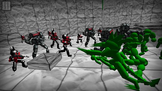 Battle Simulator: Stickman Zombie 4