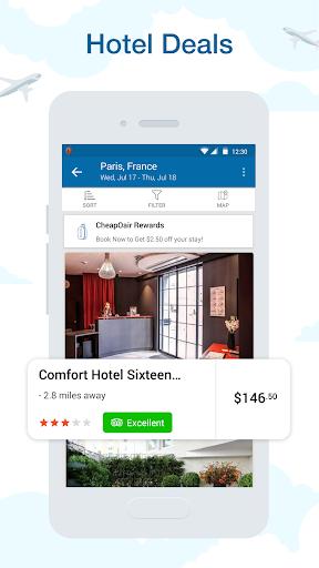 CheapOair: Cheap Flights, Cheap Hotels Booking App 3.20.18 Screenshots 3