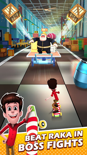 Smaashhing Simmba - Skateboard Rush android2mod screenshots 5