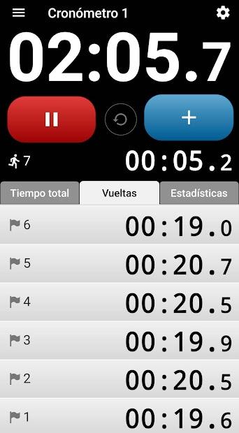 Captura 2 de Cronómetro con voz. para android