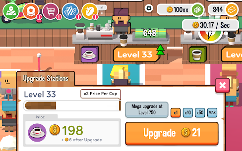 Idle Coffee Corp MOD APK 2.27 (Unlimited Coins) 15
