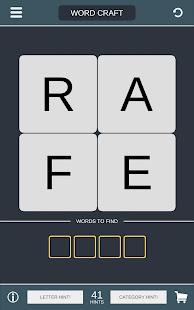 Word Craft - Puzzle on Brain