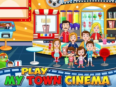 My Town : Cinema MOD (Free Purchase) 1