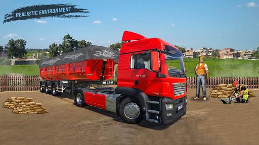 American truck driver simulator: USA Euro Truck  apktcs 1