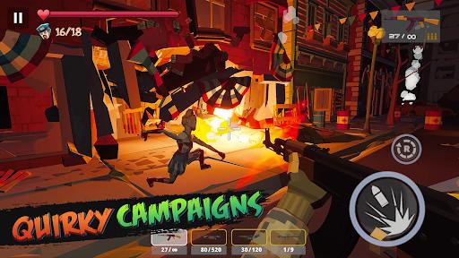 Zombie Poly: Offline Games  screenshots 5