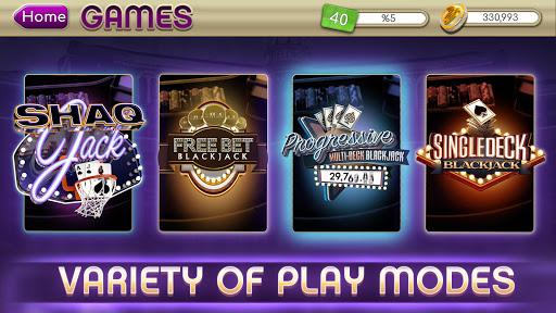 myVEGAS Blackjack 21 - Free Vegas Casino Card Game  screenshots 2