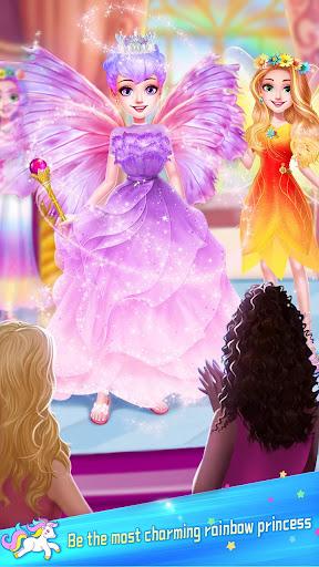 ud83dudc78Rainbow Princess & Unicorn Makeup - Fashion Trip 1.8.5038 screenshots 21