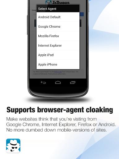 InBrowser - Incognito Browsing 2.42.5 Screenshots 6