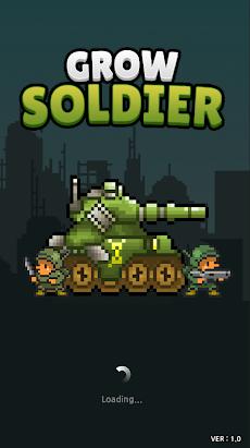 Grow Soldier(ソルジャー育てる) - アイドルマージゲームのおすすめ画像1
