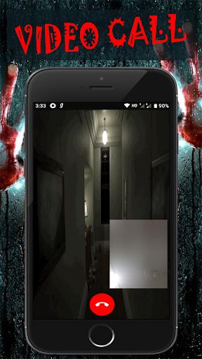Scary Talk : Fake video call and chat prank  screenshots 4