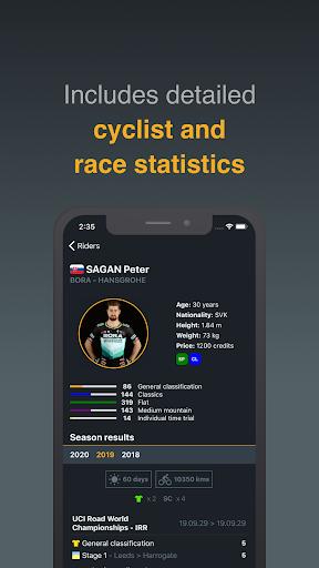 Cycling Fantasy - UCI World Tour Apkfinish screenshots 5