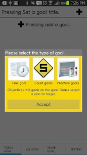 Goals Calendar  Apps For Pc (Windows 7, 8, 10 And Mac) Free Download 1