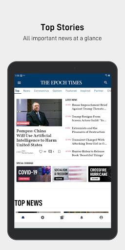 The Epoch Times: Live & Breaking News  screenshots 8