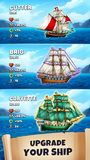 Pirates & Puzzles - PVP Pirate Battles & Match 3  screenshots 12