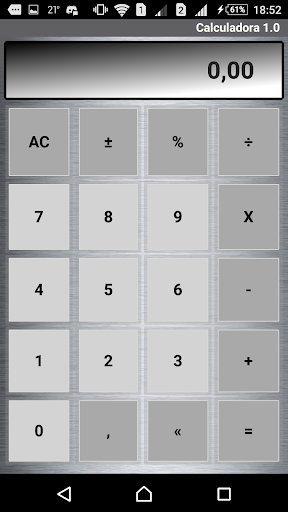 Calculadora  screenshots 1