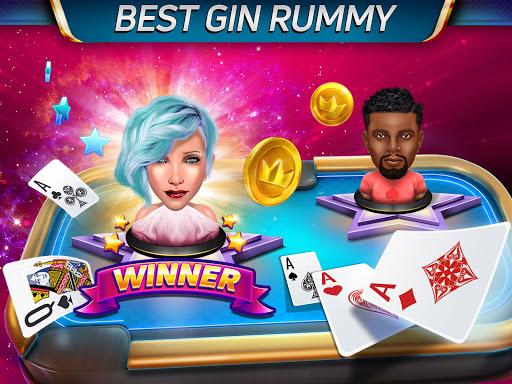 Gin Rummy Stars - Play Free Online Rummy Card Game Apkfinish screenshots 1