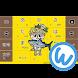 キーボードイメージ (しんじょう君 ver.) - Androidアプリ