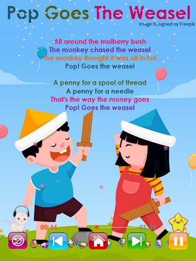 Kids Songs - Offline Nursery Rhymes & Baby Songs 1.8.2 screenshots 8