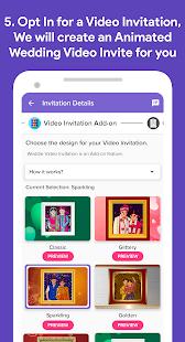 Weddie - Free Wedding Websites & Video Invitations screenshots 5