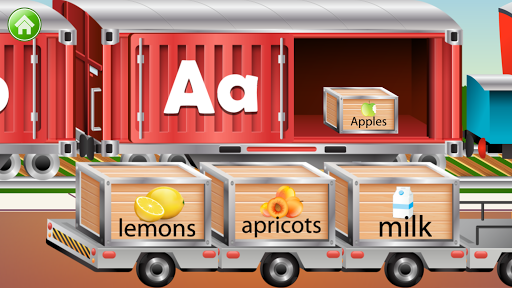 Learn Letter Names and Sounds with ABC Trains android2mod screenshots 5