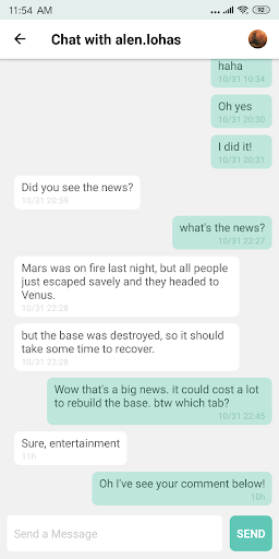 Buzzlite - News Feed for Anything You Care. 1.1.1 Screenshots 8