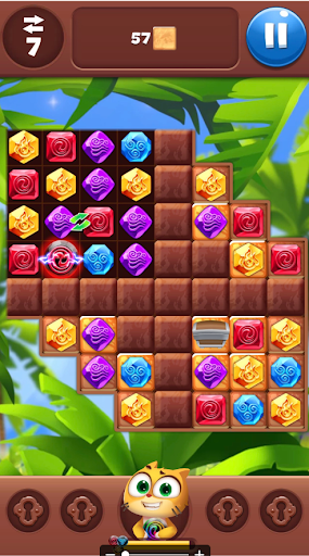Gemmy Lands: Gems and New Match 3 Jewels Games apkslow screenshots 6