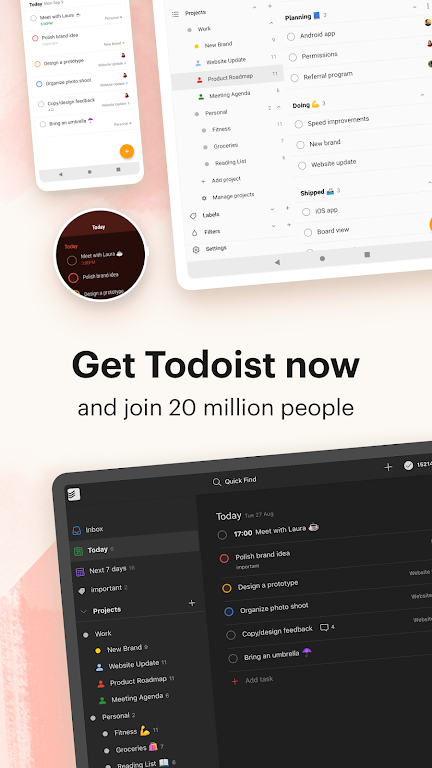 Todoist: To-Do List, Tasks & Reminders  poster 6