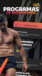 Calisteniapp - Calistenia y Street Workout Screenshot
