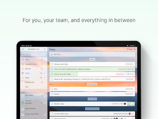 Zenkit To Do apkdebit screenshots 8