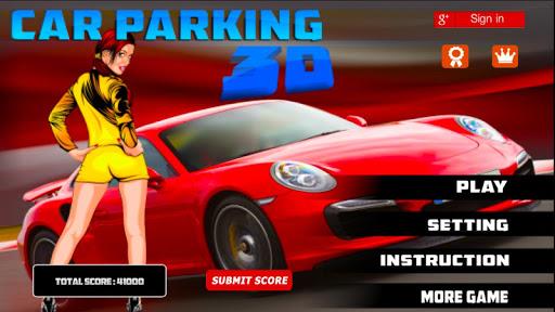 3d sports car parking game screenshot 1