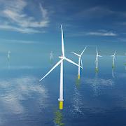 Coastal Wind Farm 3D Live Wallpaper