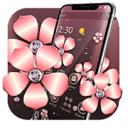 Rose Gold Luxury Flower Theme