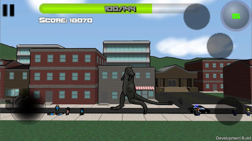 Attack of the Giant Mutant Lizard  screenshots 1