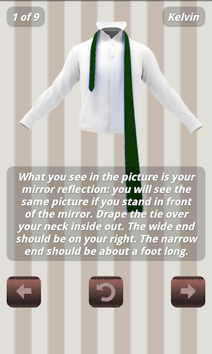 How to Tie a Tie - 3D Animated  screenshots 12
