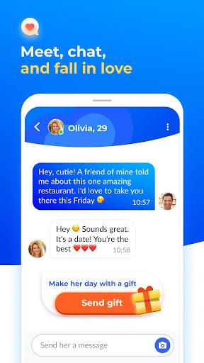 Dating with singles nearby - iHappy apktram screenshots 4
