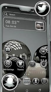 3D Glossy Ball Theme