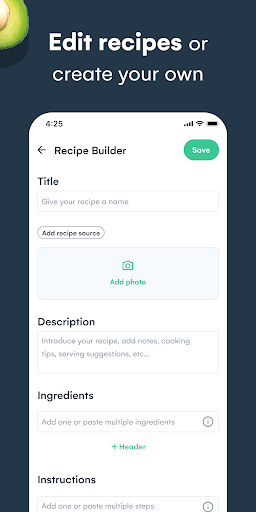 Whisk: Recipe Saver, Meal Planner & Grocery List 1.6.1 screenshots 7
