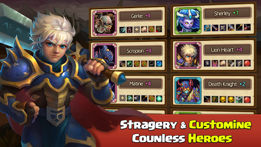Heroes Legend - Epic Fantasy RPG 2.2.7.1 screenshots 14