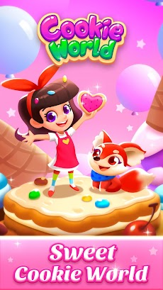 Cookie World -- Clash of Cookie & Colorful Puzzleのおすすめ画像3