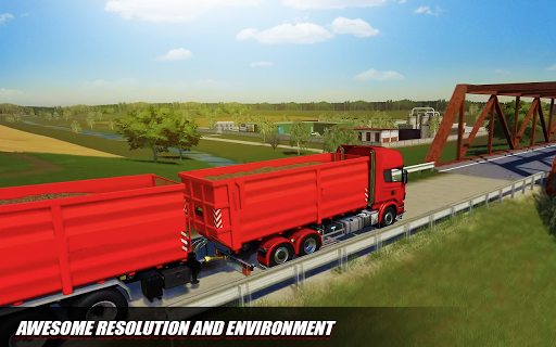 Euro Cargo Truck Simulation 3D Truck Driving Games 1.0 screenshots 4