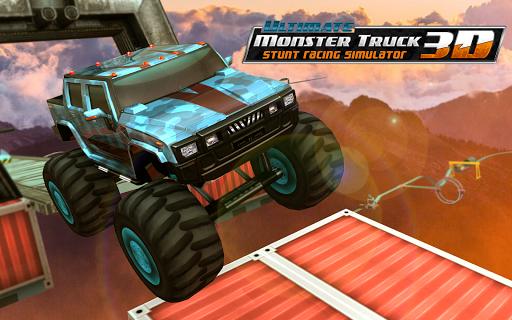 Ultimate Monster Truck: 3D Stunt Racing Simulator apkpoly screenshots 6