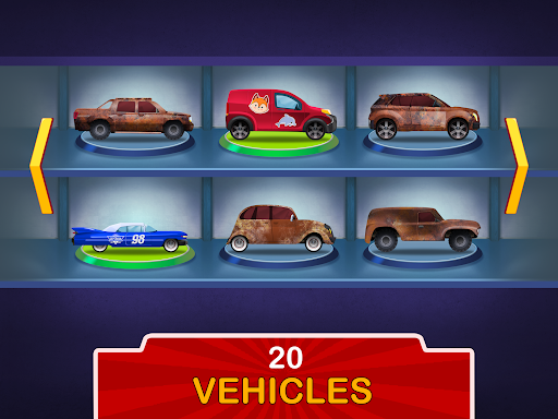 Kids Garage: Car & Truck Repair Games for Kids Fun  screenshots 15