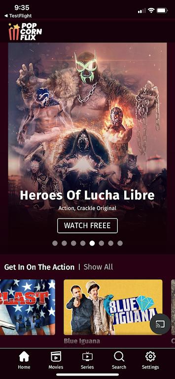 Popcornflix™ – Free Movies & TV poster 2