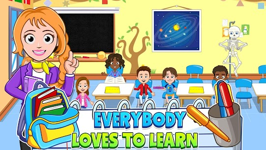 My Town : Play School for Kids Free For Android (MOD, Unlimited Money) 2