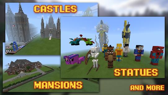Buildings for Minecraft MOD (Premium/Unlocked) 2